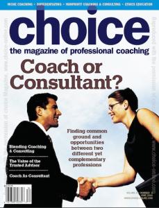 Choice Magazine cover, June 2010
